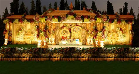wedding stage flower decorators in hyderababd   Shobha's