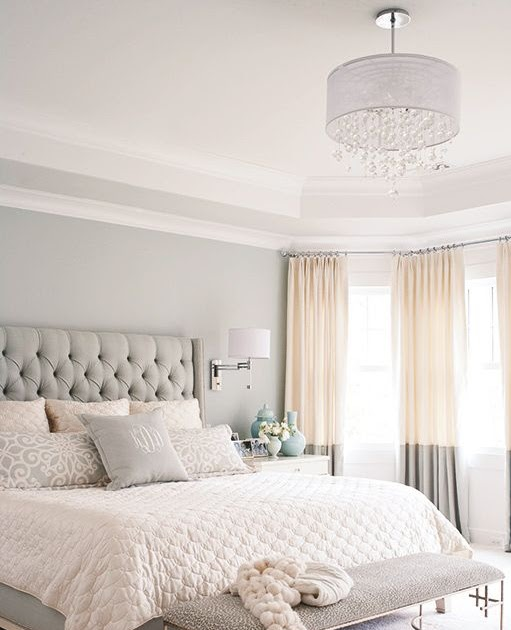 Home Design Collections: Gray, White, And Tan Bedroom