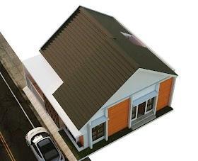 Model Atap Rumah Minimalis Tampak Atas