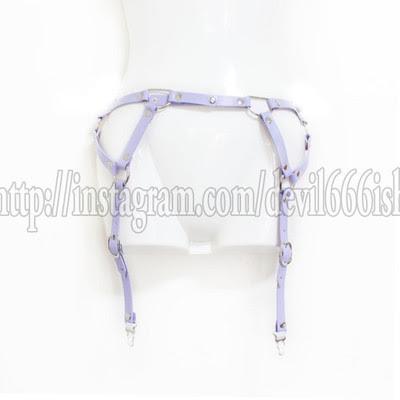 garter belt (purple)