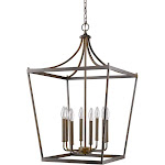 Acclaim Lighting-IN11135ORB-Kennedy - Eight Light Pendant Oil Rubbed