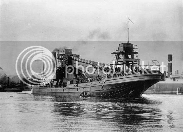 Panama Canal, 1913