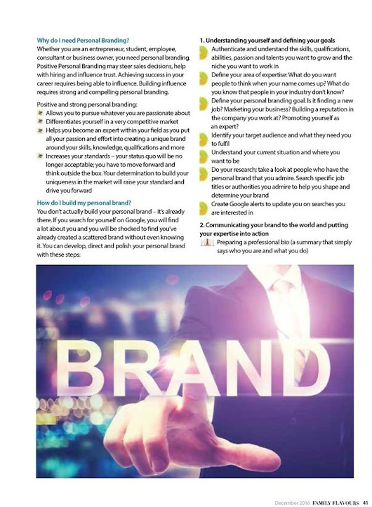 The Power of Personal Branding by Rania Kudsi | Workforce News
