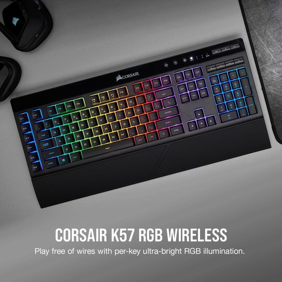 Corsair K57 Rgb Wireless Gaming Keyboard With Slipstream Wireless Tech Datablitz