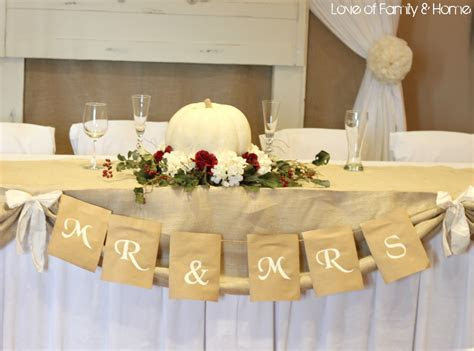 DIY Rustic, Chic, Fall Wedding Reveal    Love of Family