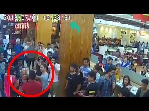 Vinod Kambli wife hits singer Ankit Tiwari father with Sandals Original CCTV Footage - VIDEO
