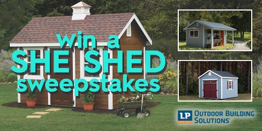 DIY She Shed Sweepstakes