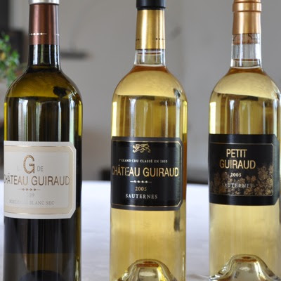 The 3 Guiraud cuvees