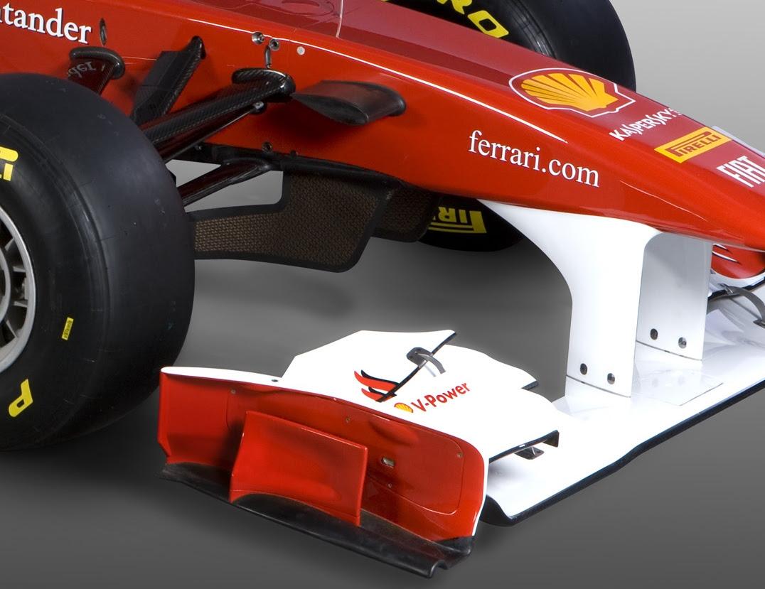 Nel 2014 Ferrari e McLaren con la push rod all'anteriore