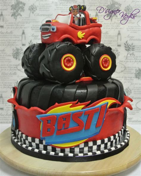 Blaze and the Monster Machine   cake by Phey   CakesDecor