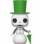 Funko Pop Disney: Nightmare Before Christmas - Snowman Jack Skellington Collectible Figure, Multicolor