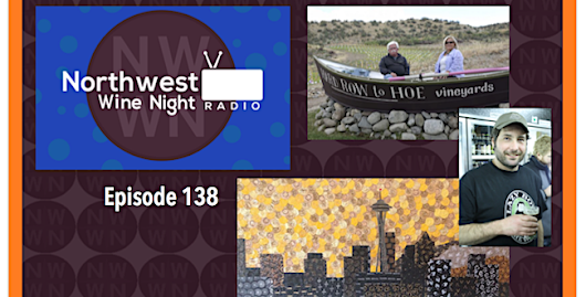"Northwest Wine Night Radio – ""Wine Art and Beer Furniture"" (ep138) 10.10.16 - Northwest Wine Night TV & Radio"
