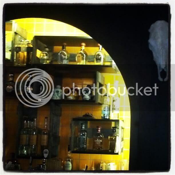 Bandolero's decor