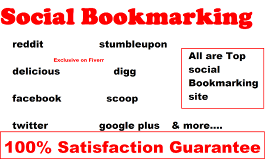 nazrulislam91 : I will add your site to 200 SEO social bookmarking quaily backlinks for $5 on www.fiverr.com