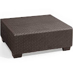 Keter Salta All-Weather Outdoor Patio Coffee Table Brown