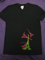 T-shirt into Bag