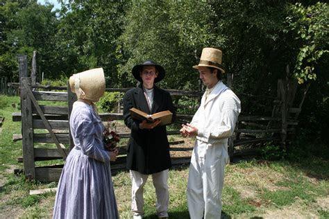 Pioneer Weddings   Living History Farms