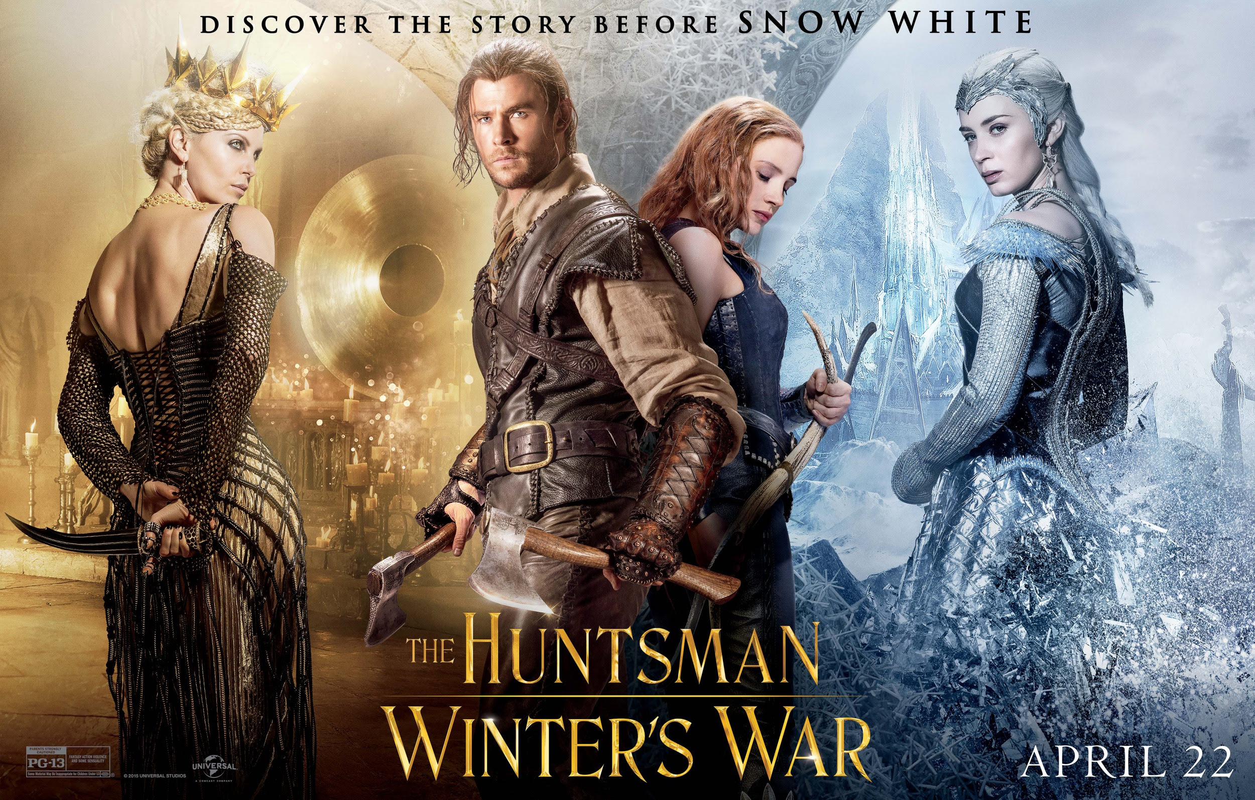 Resultado de imagem para The Huntsman: Winter's War