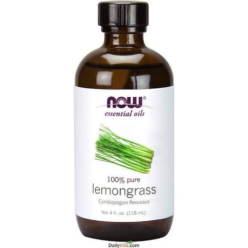 Now Foods Lemongrass Oil, 4 Ounce, 4 fl oz