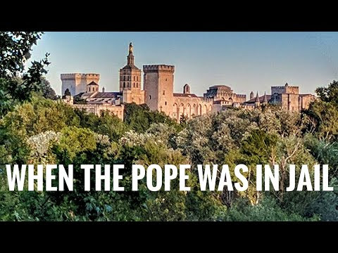 When the Pope was in jail
