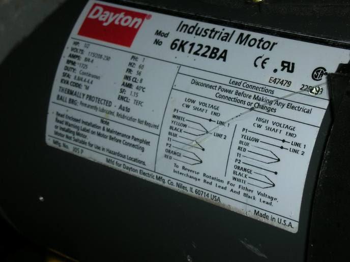 32 Dayton Electric Motors Wiring Diagram