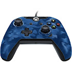 PDP Stealth Series USB Controller for Xbox One S/PC/Xbox One/Xbox One X - Blue Camo