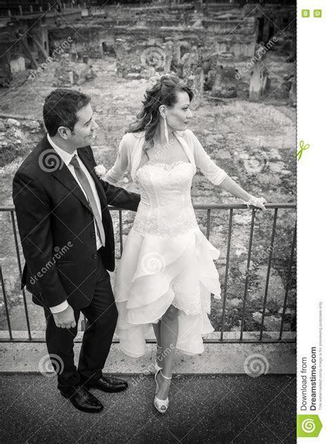 Husband And Wife. Couple Marriage. Newlyweds. Stock Image
