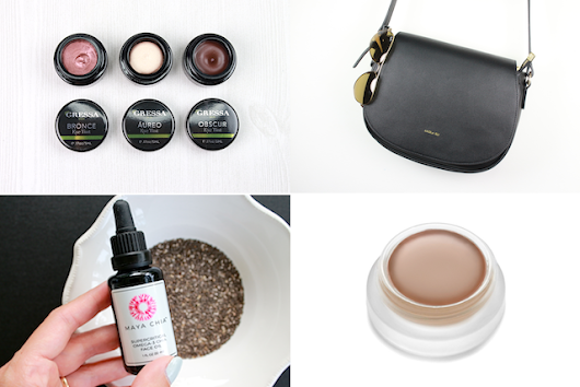 Catchup #63: Beautiful Cream Shadows, Vegan Handbags, New RMS Beauty | Genuine Glow