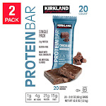 Kirkland Signature Protein Bars Chocolate Brownie 2.12 oz, 2-count