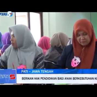 Simpang5 TV - Tingkatkan Kualitas Tenaga Pendidik Untuk Anak Berkebutuhan Khusus