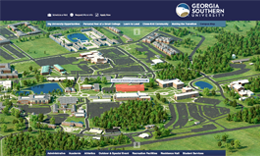 Map Of Georgia Southern.Georgia Southern Campus Map States Maps