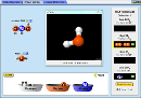 Screenshot of the simulation Build a Molecule
