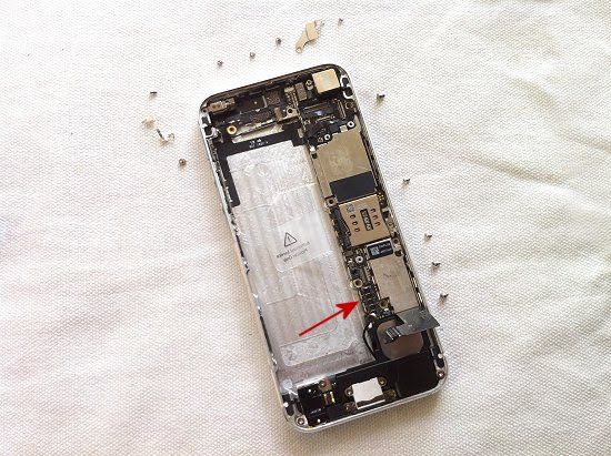 iPhone 5 disassembly stage 32