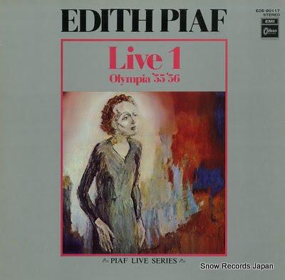 PIAF, EDITH live1 olympia '55 '56