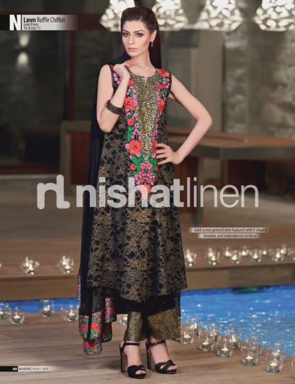 Nishat-Linen-Eid-Dress-Collection-2013-Pret-Ready-to-Wear -Lawn-Ruffle-Chiffon-for-Girls-Womens-9