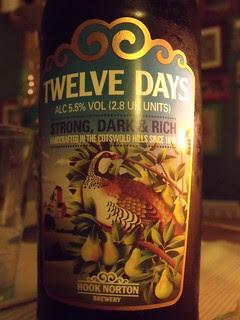 52 beers 5 - 08, Hook Norton, Twelve Days, England