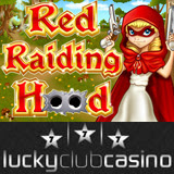 Lucky Club Casino Red Raiding Hood Slot Machine Has Two Free-Spins Features