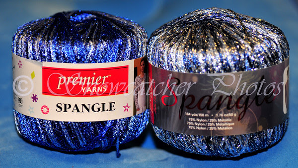 Spangle Crochet Thread