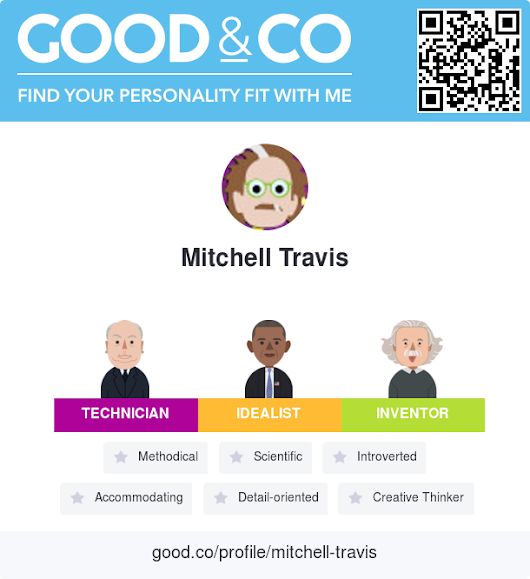 Good&Co profile for Mitchell Travis