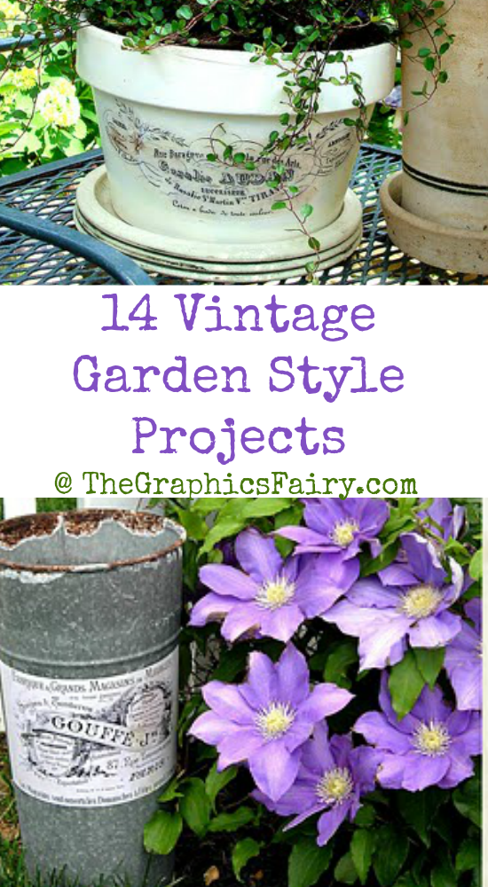14 Vintage Garden Style Projects
