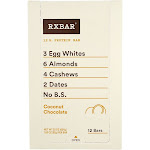 RXBAR Coconut Chocolate Box of 12 Bars