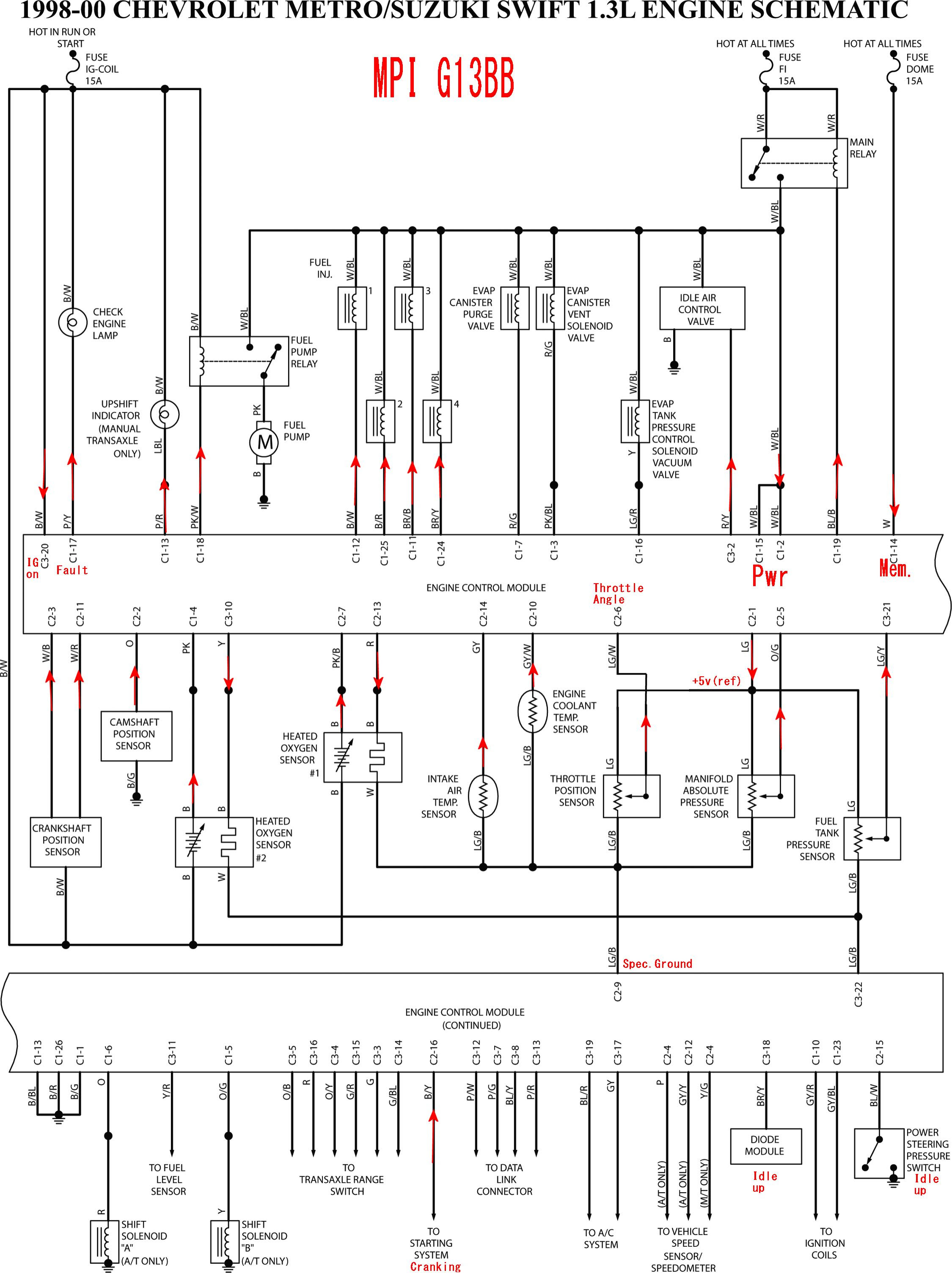 72f973 1993 Geo Prizm Fuse Diagram Wiring Resources