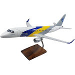 Embraer E-175 (Factory Colors) Limited Edition Large Mahogany Model