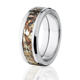 Duck Blind Mossy Oak Camo Rings, Camouflage Wedding Rings