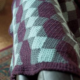 Salt Water Taffy Crochet Afghan Pattern