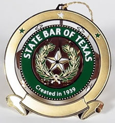 State Bar of Texas ornament