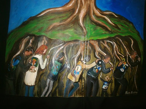The roots of the Walking Gallery