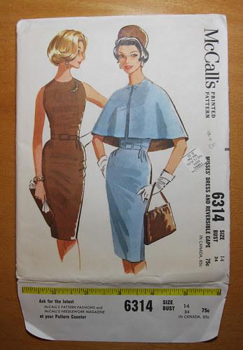 McCall 6314 sheath dress