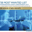 """MEDICAL FITNESS FOR DUTY"" MAKES NTSB'S 2015 ""MOST WANTED LIST"" FOR TRANSPORTATION SAFETY IMPROVEMENTS - John David Hart"