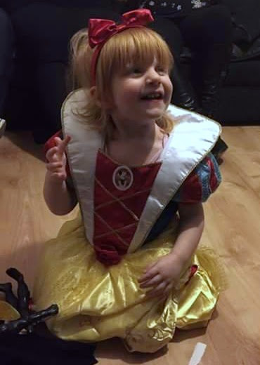 Marianna as Snow White